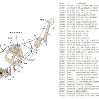 MPL0502 FUSELAGE STRUCTURE ULC