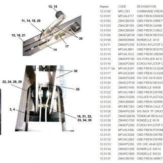 MPL1201 COMMANDE FREIN ULC