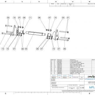 MPL4701 ATTERRISSEUR PRINCIPAL SUPPORT CB