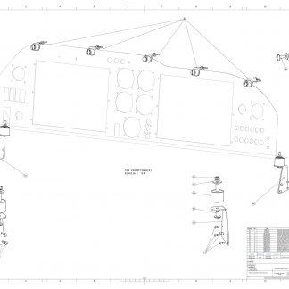 MPL5400 FIXATION TABLEAU DE BORD ULC