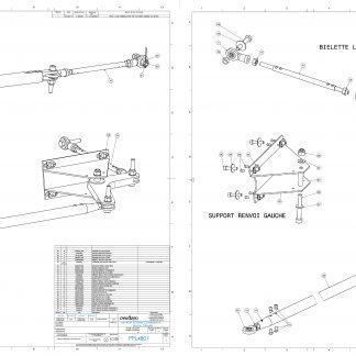PPL4801 AILERON SYSTEM COMMANDE CB