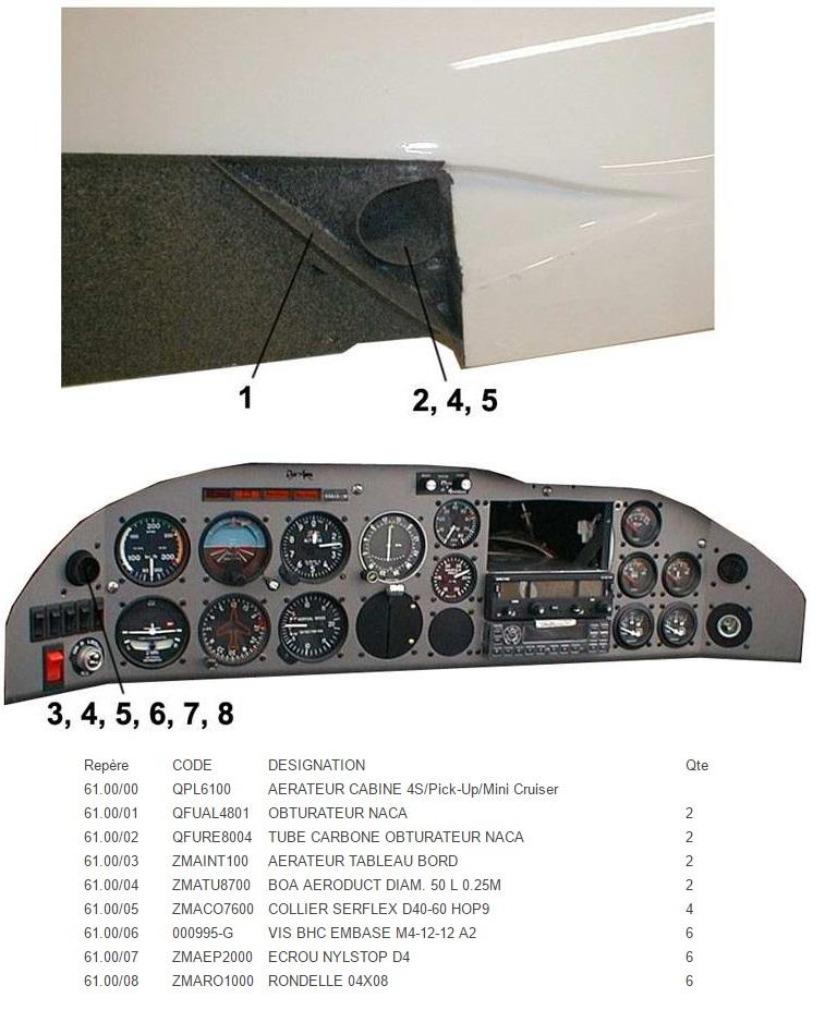 QPL6100 AERATEUR CABINE QS