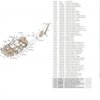 QPL0500 FUSELAGE STRUCTURE QS