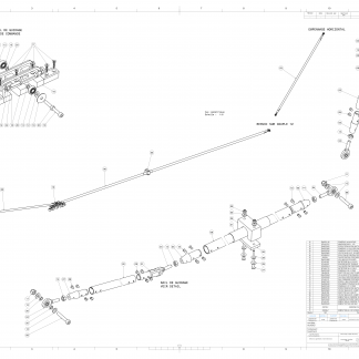 QPL2600 - COMMANDE PROFONDEUR 4S