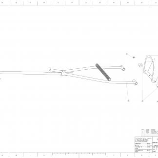 MPL1500 TOW BAR MCR ROUE 280
